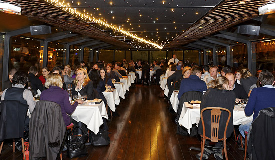 "Dinner cruise at 9:00 p.m. - ""Saveurs"" Formula"