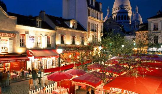 Soirées à Montmartre