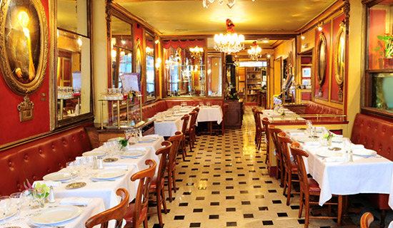 Dinner or lunch at the restaurant Le Procope