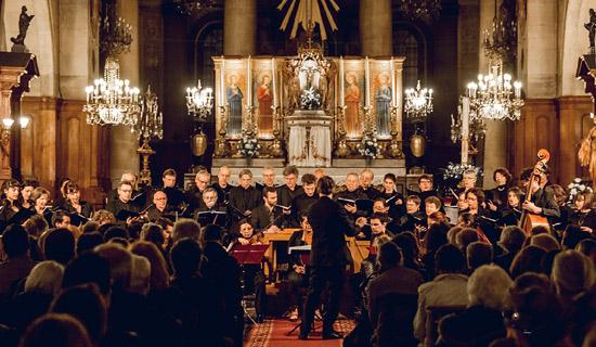 Concert avec le Choeur de Paris
