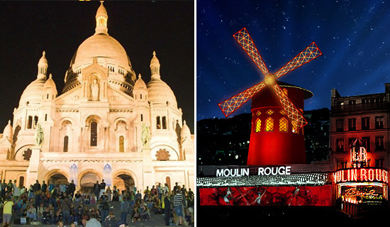 2CV night Tour  + Dinner at Montmartre + Moulin Rouge