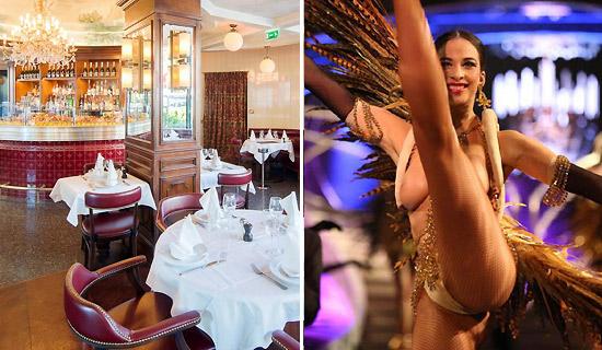 Cena en los Champs Elysées + Show  del Lido de Paris