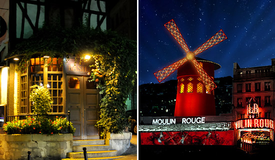 Dinner at Montmartre + Moulin Rouge