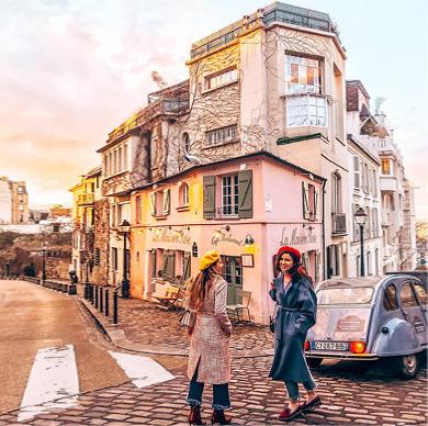Visita guiada de París a pie