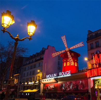 LE MOULIN ROUGE Le plus célèbre cabaret du monde !