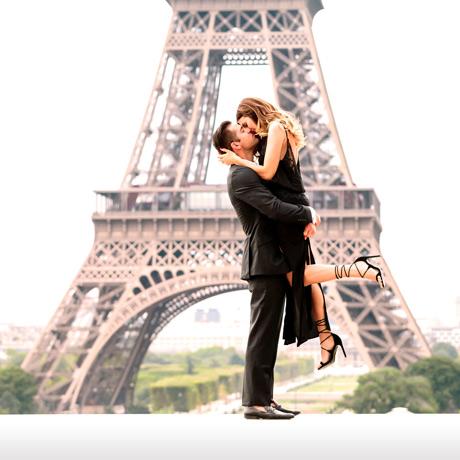 Valentine's Day in Paris