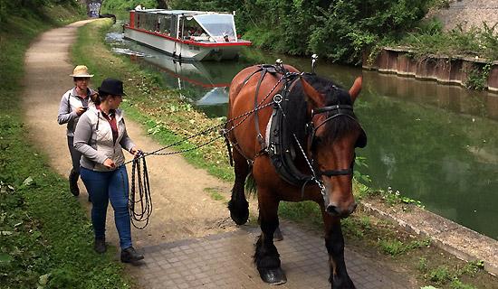 Croisière escapade sur le Canal de l'Ourcq