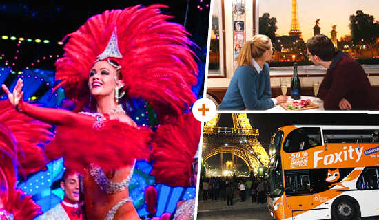 "Cruise ""La Parisienne Gourmande"" + Paris Night Tour + Moulin Rouge"