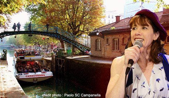 "Cruise ""Atmosphère"" on the canal Saint Martin"