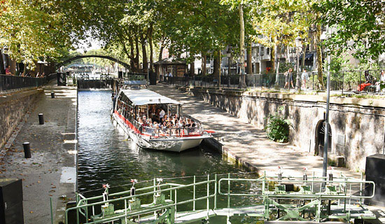 Cruise of the Old Paris<br>on the canal Saint Martin