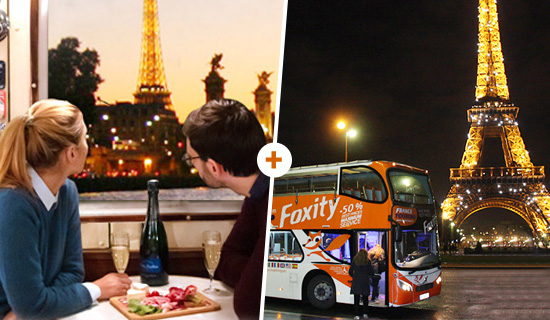 "Cruise ""La Parisienne Gourmande"" + Paris by Night Tour"