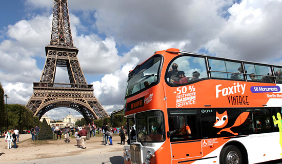 Eiffel Tower visit + Pass City Tour 1 day