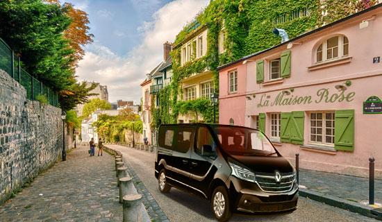 Paris hidden side by minibus
