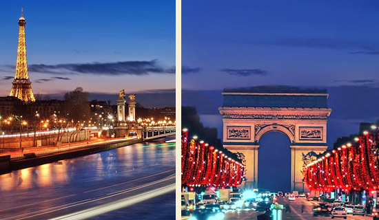 Seine cruise + Paris by night Tour