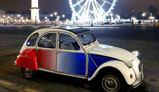 Paris night Tourby 2CV