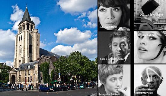 Visite du Paris des Artistes St Germain des Prés