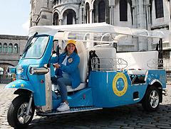 Private tour of Paris by Tuk-Tuk 100% electric