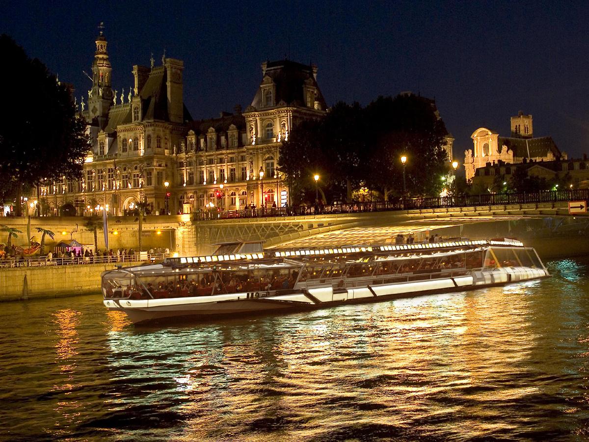 Bateau mouche diner croisiere - Bateaux parisiens port de la bourdonnais ...
