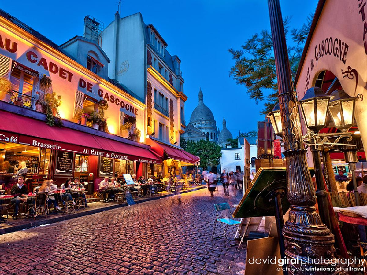 New Year S Eve At La Bonne Franquette Montmartre