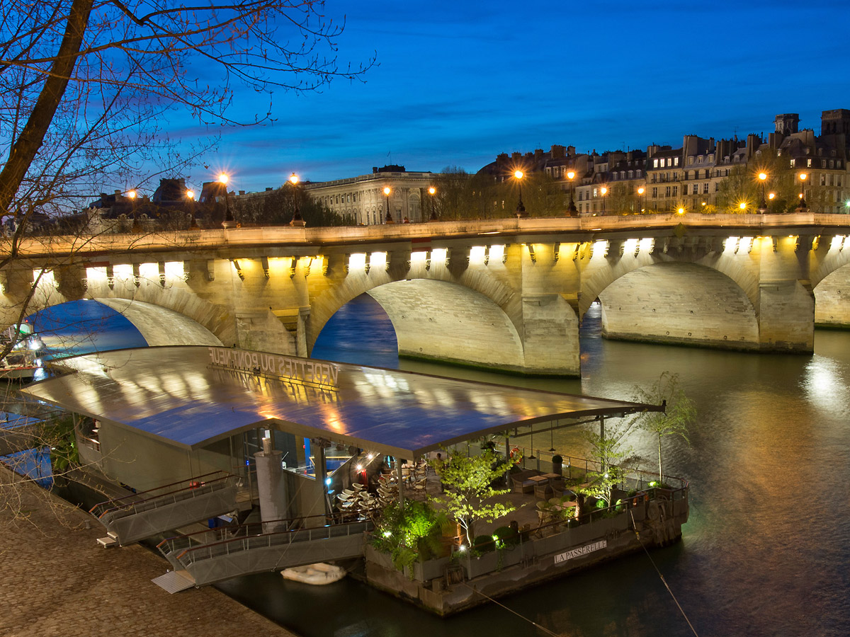 New Year S Eve At The Restaurant Les Jardins Du Pont Neuf