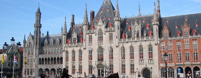 The City Hall in Bruges