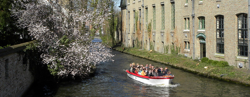 Cruise on the canals in Bruges