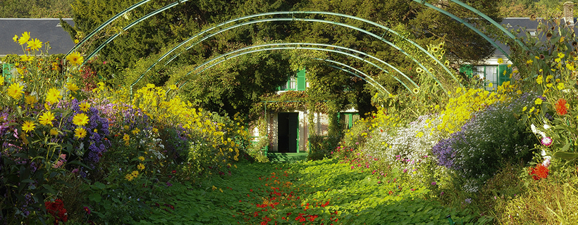 The garden of Monet in Giverny