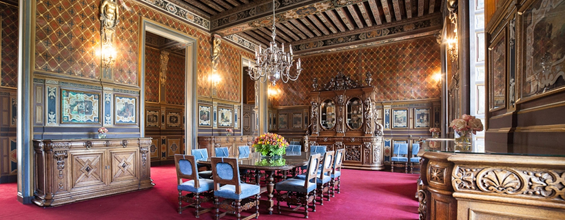 The dining room from Chateau de Cheverny