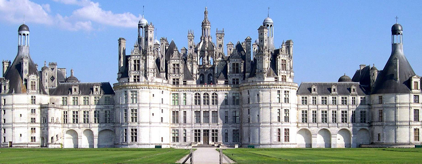 The castle of Chambord