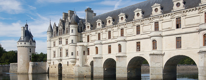 el castillo de Chenonceau