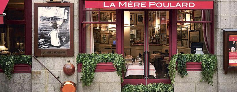 The restaurant La Mere Poulard