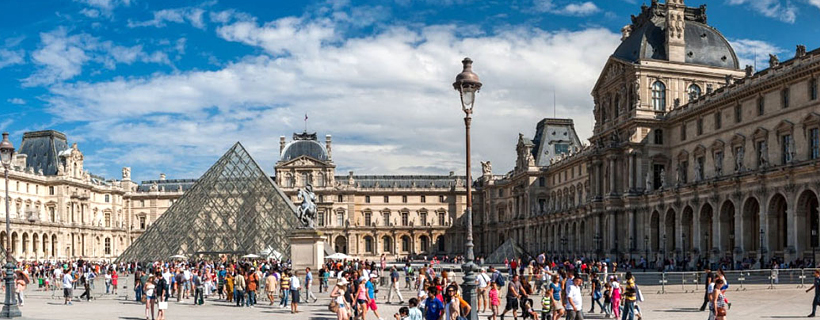 The Palace of the Louvre
