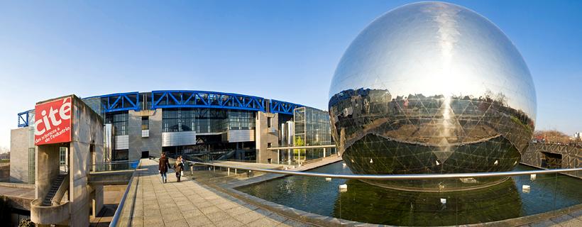 La ciudad de las sciencias en Paris
