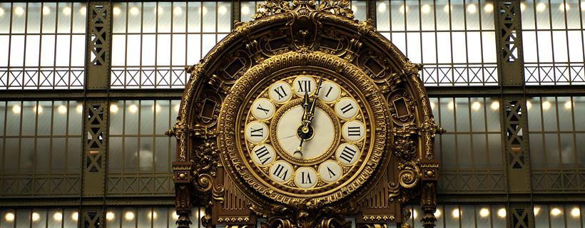 L'horloge de la gare d'Orsay