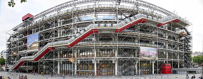 El centro y museo Pompidou