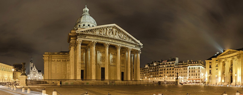 The Panthéon in the Latin quarter of Paris