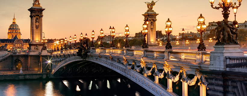The bridge Alexandre III