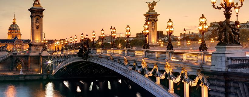 The bridge Alexandre III