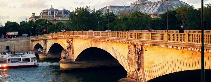 The bridge of Invalides