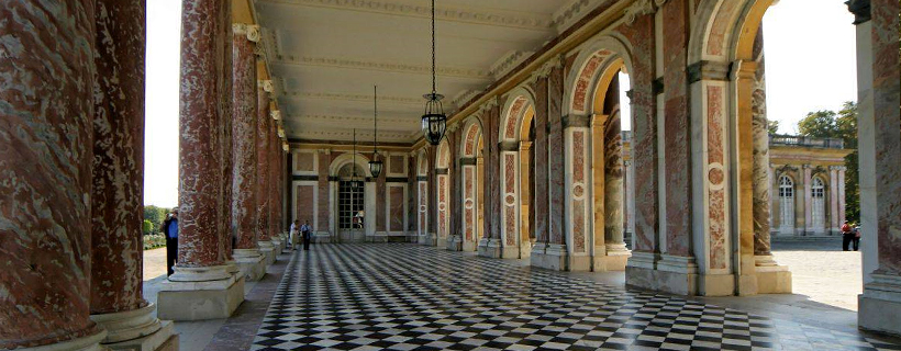 The grand trianon in Versailles