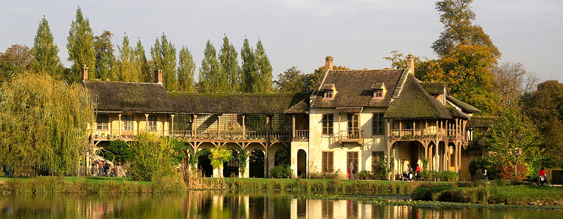 The Queen's hamlet in Versailles
