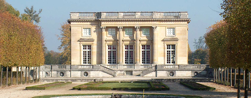 The petit trianon in Versailles